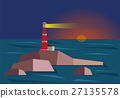 Lighthouse During Sunset 27135578