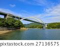 shimanami sea route, Omishima Bridge, bridge 27136575