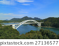 shimanami sea route, Omishima Bridge, bridge 27136577