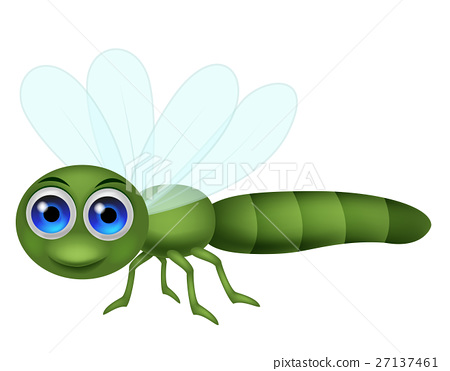 Dragon Fly Cartoon Stock Illustration 27137461 Pixta