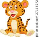 animal cartoon leopard 27138572
