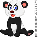 动物 熊猫 婴儿 27138574