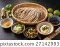 Fresh soba soba set that Japanese noodles 27142993