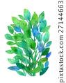 푸른 잎, 파란 잎, 잎 27144663