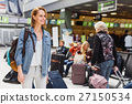Happy girl is excited about travel 27150534