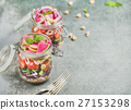 healthy, salad, jar 27153298