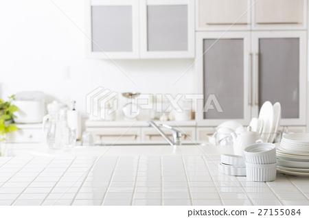 Kitchen Background Stock Photo 27155084 Pixta