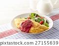 煎蛋捲 早餐 平原 27155639