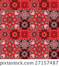 Seamless pattern on the tiles, majolica, arabic 27157487