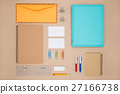 Mock up template of stationary in everyday life 27166738