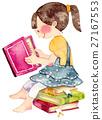 讀書的女孩 27167553
