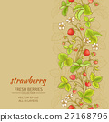 strawberry_vector_background 27168796