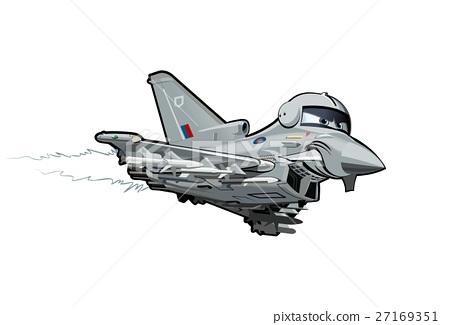 Cartoon Fighter Plane 27169351