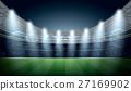 Soccer Stadium with spot light. Football Arena. 27169902