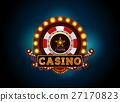 casino neon light sign 27170823