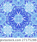 Colorful, glaze seamless pattern of mandalas 27175286