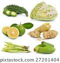 Moonflower, Bilimbi, sweet orange, waxy corn 27201404