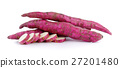 yam potato on white background 27201480