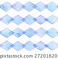 Large seamless raster texture with blue rhombus  27201620