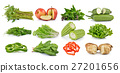 set of fruit and vegetable 27201656