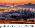 Luminosity of oil refinery plant. 27202282