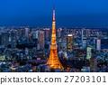 東京·暮光之城夜景 27203101