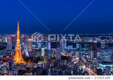 城市景观 城市 东京 27203109