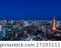 東京·暮光之城夜景 27203111