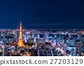 東京夜景 27203129