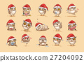 Illustrations isolated Emoji character cartoon owl 27204092