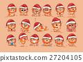 Illustrations isolated Emoji character cartoon 27204105