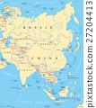 Asia political map 27204413
