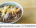 Japanese ramen noodle on table 27206994