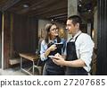 coffee, shop, couple 27207685