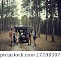 People Friendship Hangout Traveling Destination Camping Concept 27208307