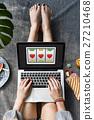 Lotto Slot Machine Jackpot Win Concept 27210468