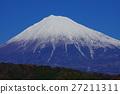 富士山 雪冠 山 27211311