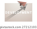 Paper Plane Icon Mission Concept 27212103