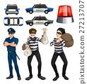 Policeman and robbers set 27213707
