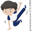 Little boy dancing hiphop 27213860