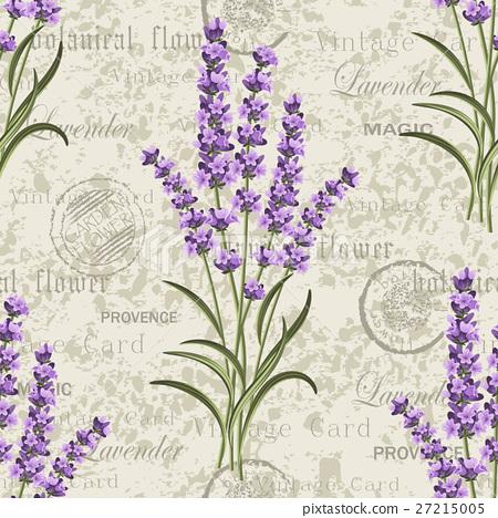 Seamless floral pattern 27215005