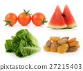 fruit and vegetable on white background 27215403
