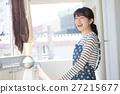 主婦 家庭主婦 洗衣店 27215677