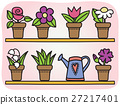 Flowers in pots illustration 27217401