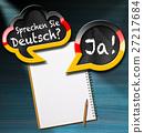 Sprechen Sie Deutsch - Speech Bubbles 27217684