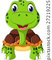 tortoise, vector, cartoon 27219225