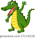 animal, alligator, vector 27219238