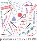 Illustration of sewing equipment 27219398