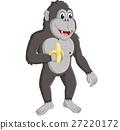 gorilla cartoon 27220172