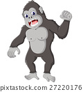 gorilla cartoon 27220176